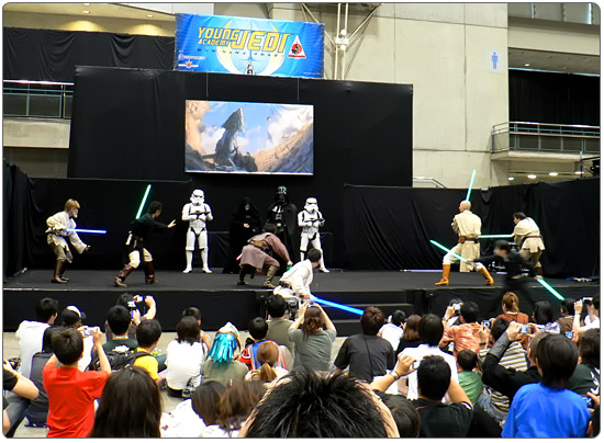 Rebel Legion & Jedi Order on Stage