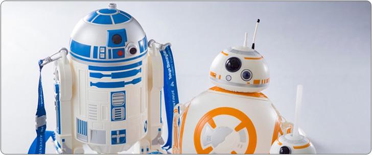 東京ディズニーランド スター・ウォーズ スーベニア付きメニュー BB-8ポップコーン バケット