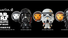 A BATHING APE × STAR WARS VCD BABY MILO