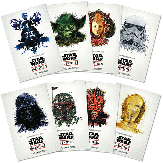 STAR WARS Identities: The Exhibition Postcard Set