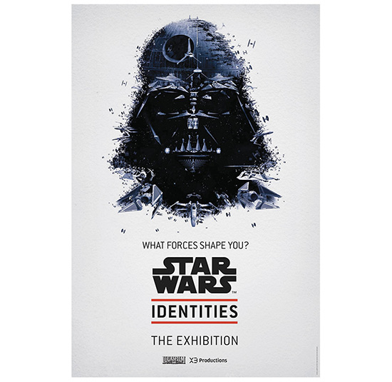 STAR WARS Identities: The Exhibition Poster