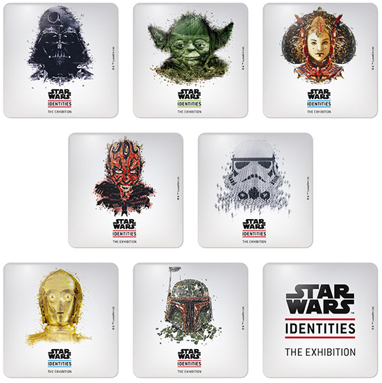STAR WARS Identities: The Exhibition Magnet Set