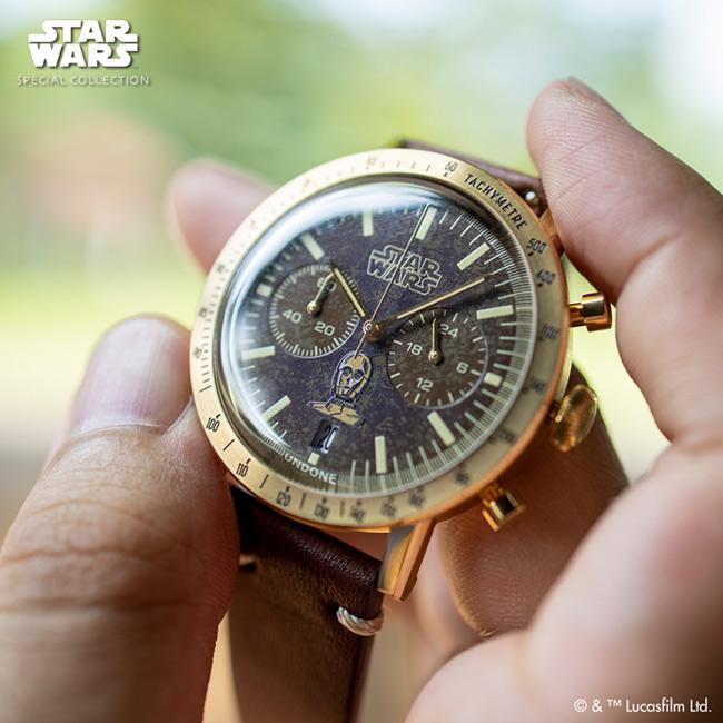 UNDONE スター・ウォーズ ウォッチ C-3PO