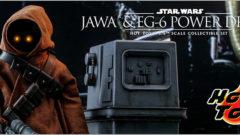 ホットトイズ ムービー・マスターピース スター・ウォーズ エピソード4/ 新たなる希望 ジャワ&EG-6パワードロイド