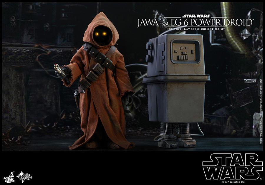 スター・ウォーズ エピソード4/ 新たなる希望 ジャワ&EG-6パワードロイド