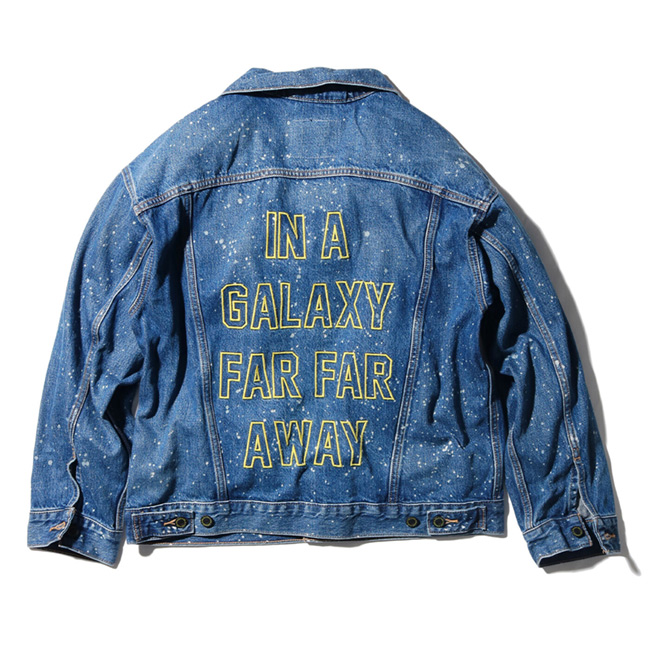 STAR WARS X LEVI'S トラッカージャケット MAY THE FORCE BE WITH YOU