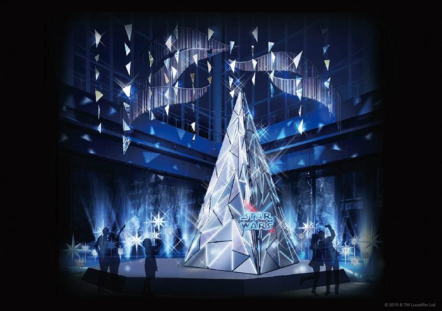 STAR WARS Marunouchi Bright Christmas 2019