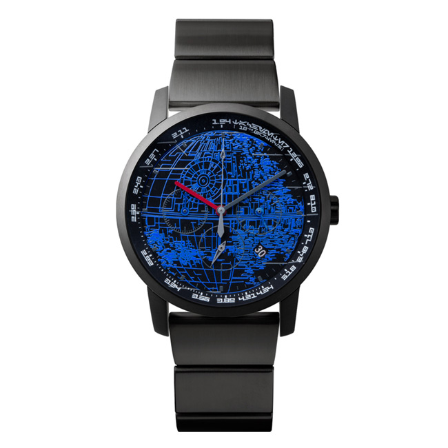 "wena wrist pro Chronograph Premium Black set /STAR WARS limited edition ""THE DARK SIDE"""