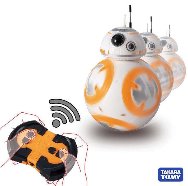 タカラトミー スター・ウォーズ DXトーク&コントロール BB-8