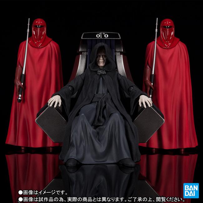 バンダイ S.H.Figuarts パルパティーン皇帝 Death Star II Throne Room Set