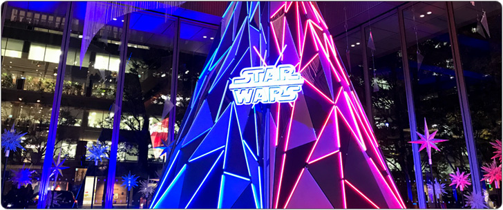 STAR WARS Marunouchi Bright Christmas 2019 レポート
