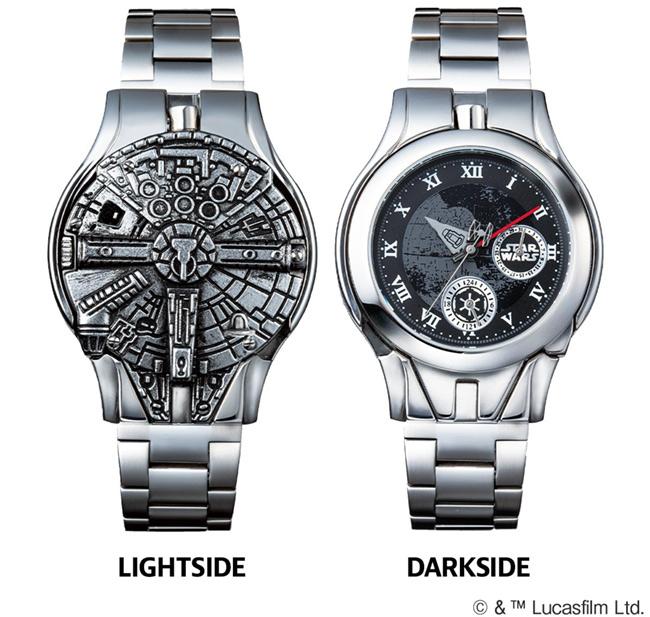 インペリアル・エンタープライズ スター・ウォーズ LIGHTSIDE VS DARKSIDE ターンフェイス・ウォッチ