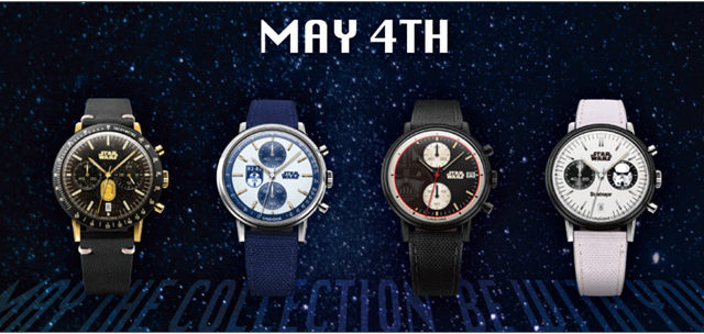 UNDONE スター・ウォーズ ウォッチ MAY THE 4TH COLLECTION BE WITH YOU