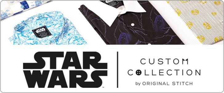 STAR WARS CUSTOM COLLECTION by ORIGINAL STITCH 米国デビュー