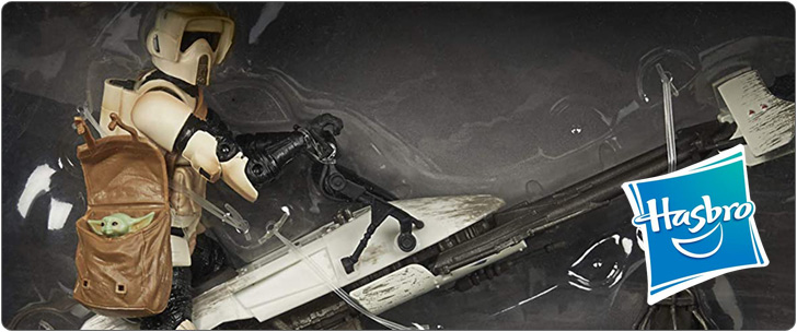 ハズブロ スター・ウォーズ ブラックシリーズ 6インチフィギュア スピーダー・バイク&スカウト・トルーパー