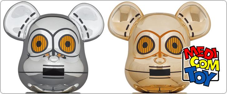 メディコムトイ BE@RBRICK TC-14 100% & 400% / C-3PO 1000%