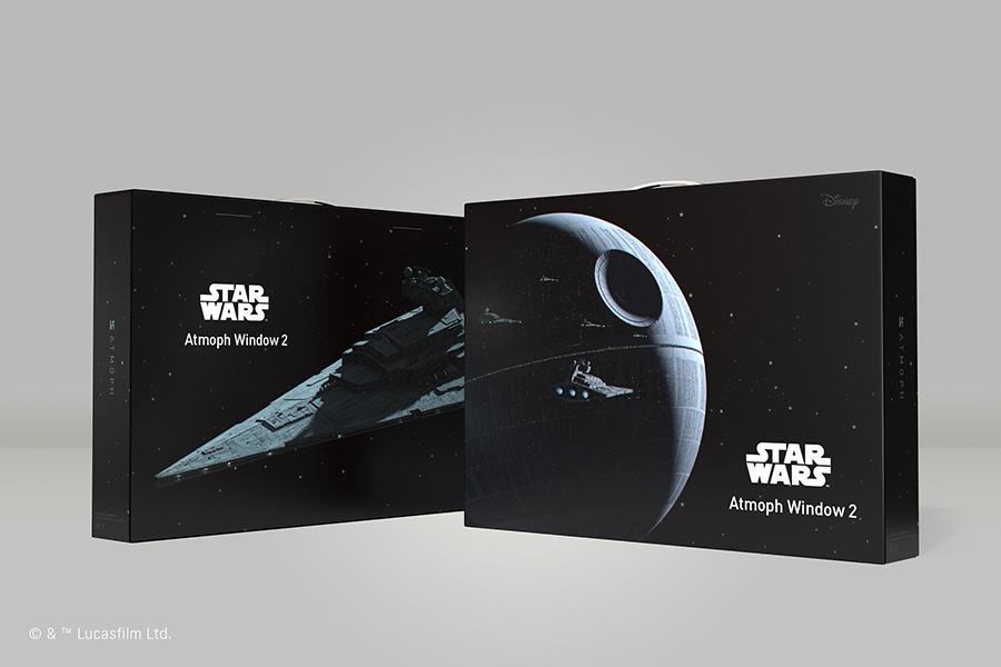 アトモフ Atmoph Window 2 | Star Wars