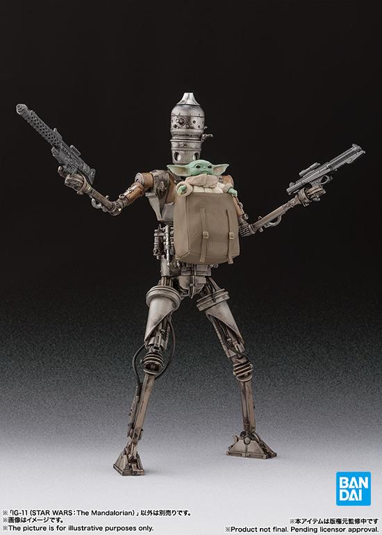 バンダイ S.H.Figuarts IG-11(STAR WARS:The Mandalorian)