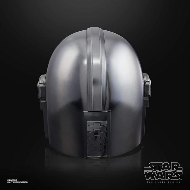 ハズブロ スター・ウォーズ ブラックシリーズ マンダロリアン エレクトロニック ヘルメット 背面