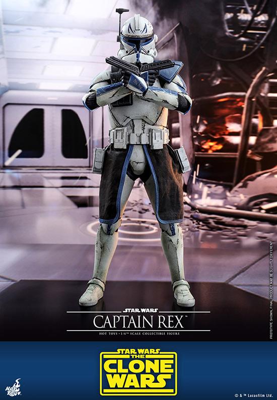 ホットトイズ テレビ・マスターピース スター・ウォーズ:クローン・ウォーズ キャプテン・レックス