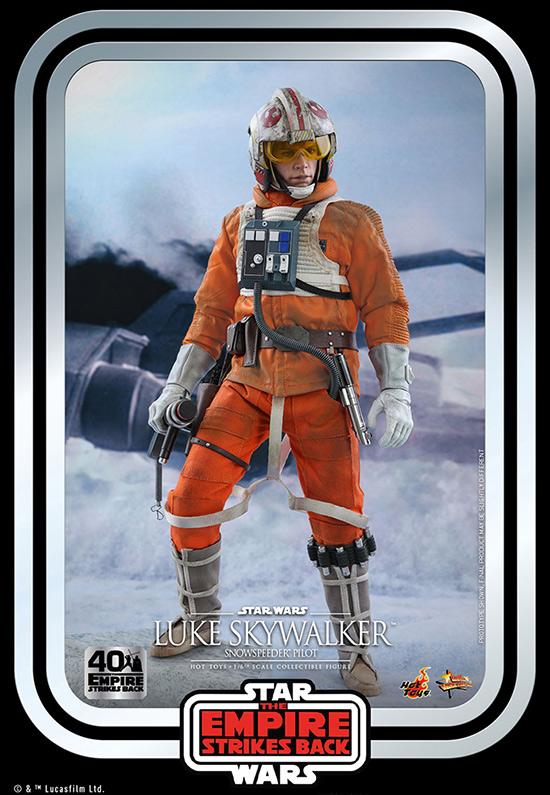 ホットトイズ ムービー・マスターピース ルーク・スカイウォーカー(スノースピーダー・パイロット版)「スター・ウォーズ エピソード5/帝国の逆襲」40周年記念版