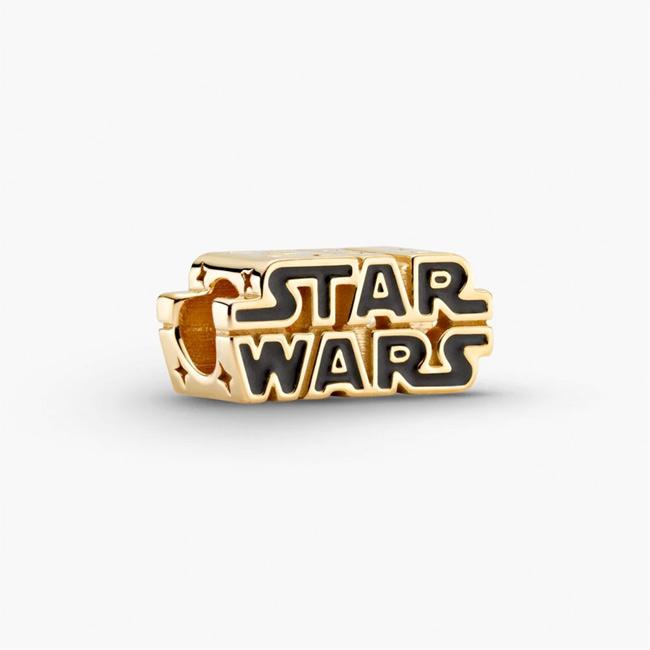 Star Wars x Pandora Shining 3D Logo Charm