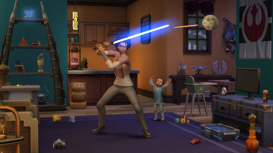 Electronic Arts The Sims4 Star Wars: Journey to Batuu Game Pack