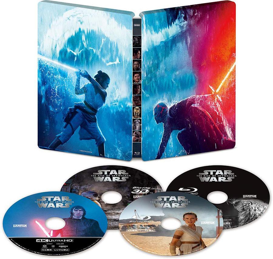 スター・ウォーズ/スカイウォーカーの夜明け 4K UHD MovieNEX スチールブック(4K ULTRA HD+3D+ブルーレイ+デジタルコピー+MovieNEXワールド)