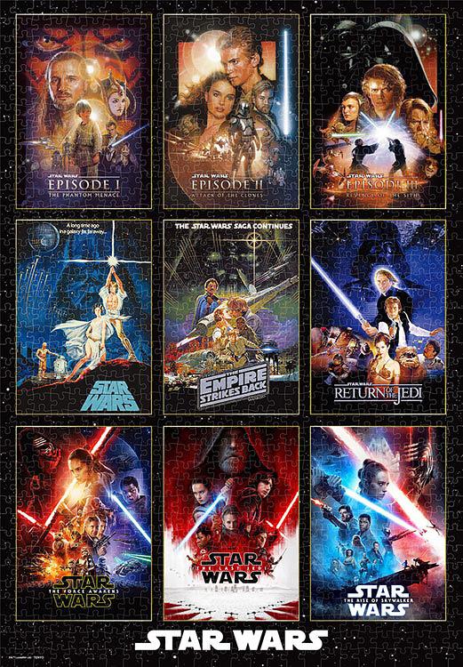 ジグソーパズル Movie Poster Collection Star Wars 1000ピース
