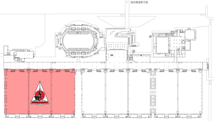 スター・ウォーズ セレブレーション ジャパン会場 幕張メッセ 国際展示場 ホール1〜3