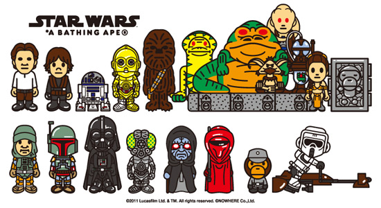 A BATHING APE × STAR WARS